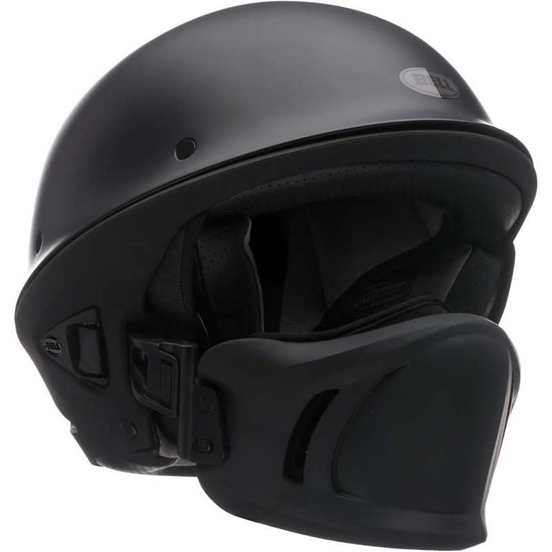 Bell-Rogue-Helmet-Muzzle-Open-Face-Speaker-Pockets-Motorcycle-DOT-2020-XS-2XL miniature 3