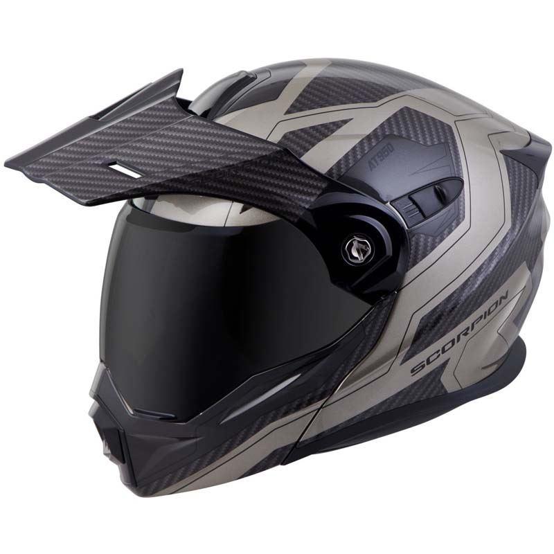Scorpion-EXO-AT950-Helmet-Flip-Up-Modular-Dual-Sport-Adventure-ADV-DOT-XS-3XL miniature 69