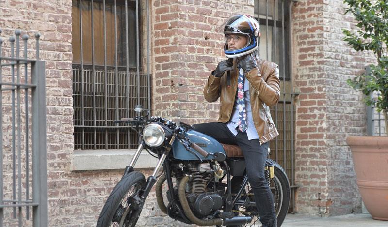 miniature 17 - Torc T1 Helmet Retro Vintage Style Fiberglass DOT Approved XS-2XL