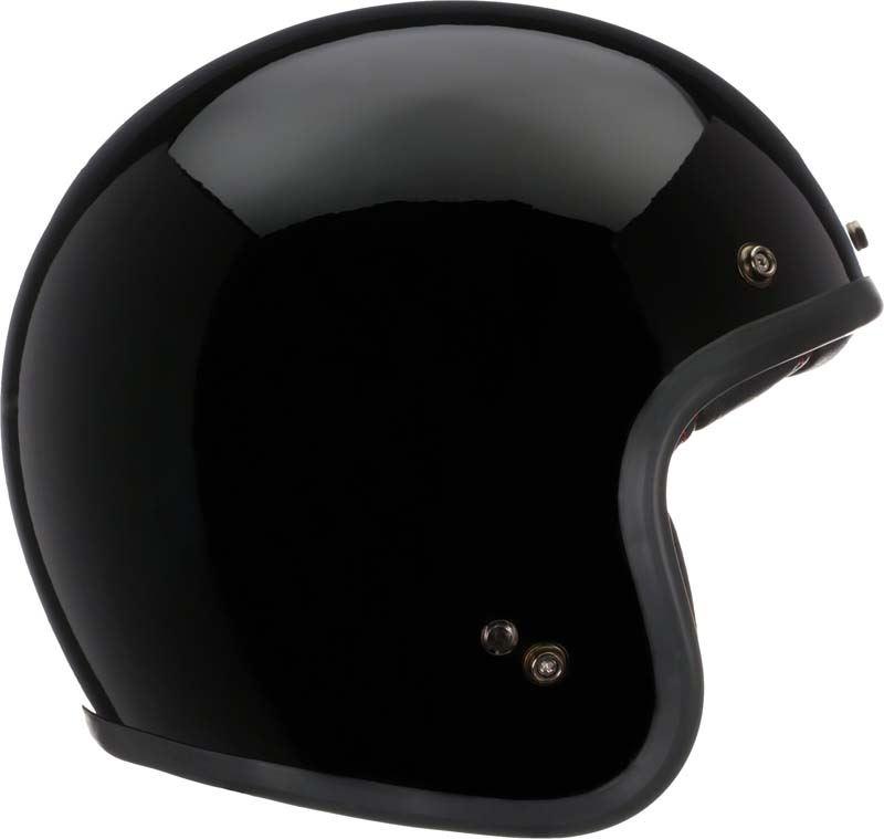 Bell-Custom-500-Helmet-3-4-Open-Face-Vintage-Retro-Motorcycle-5-Snap-XS-2XL miniature 5