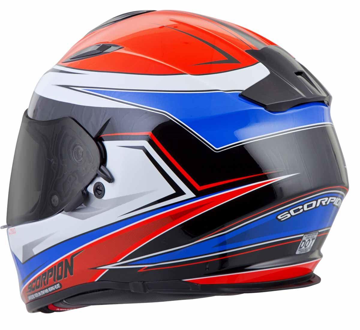 Scorpion-EXO-T510-Helmet-Full-Face-DOT-Approved-Inner-Sun-Shield miniature 34