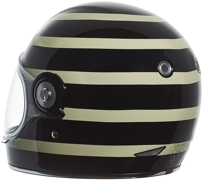miniature 61 - Torc T1 Helmet Retro Vintage Style Fiberglass DOT Approved XS-2XL