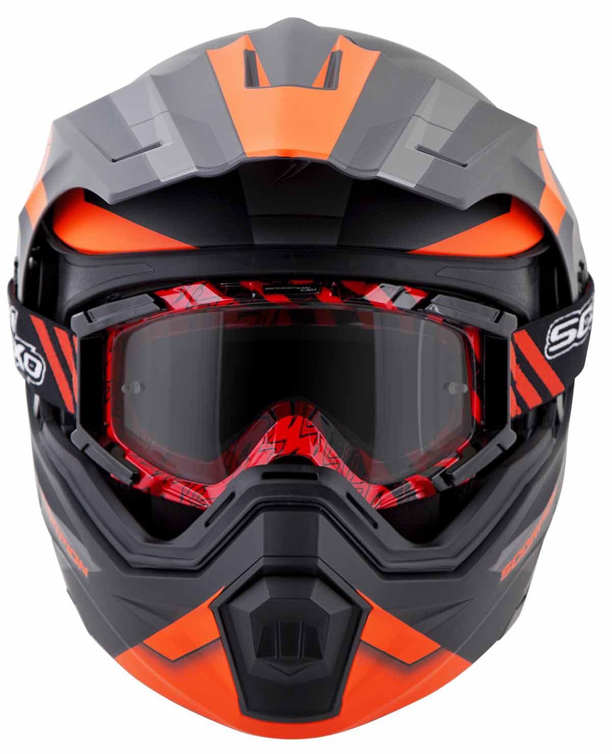 Scorpion-EXO-AT950-Helmet-Flip-Up-Modular-Dual-Sport-Adventure-ADV-DOT-XS-3XL miniature 48