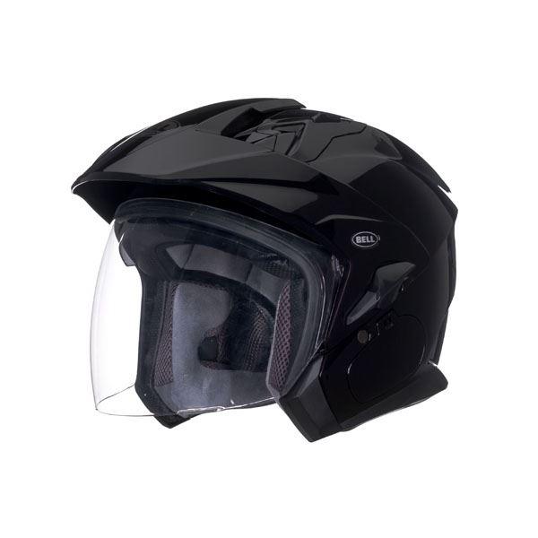 Bell-Mag-9-Helmet-Inner-Sun-Shield-Open-Face-Motorcycle-DOT-Sena-Cut-Out miniature 6