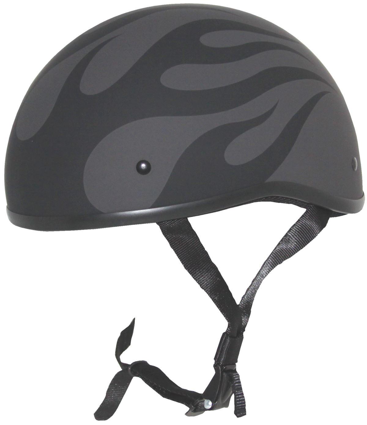Zox Retro Old School Helmet Half Naked Dot Motorcycle Fiberglass