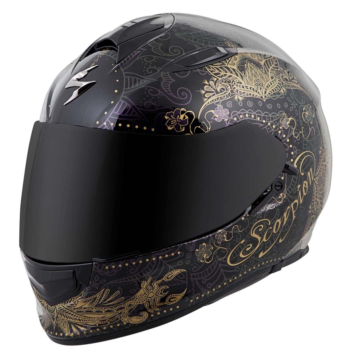Scorpion-EXO-T510-Helmet-Full-Face-DOT-Approved-Inner-Sun-Shield miniature 64