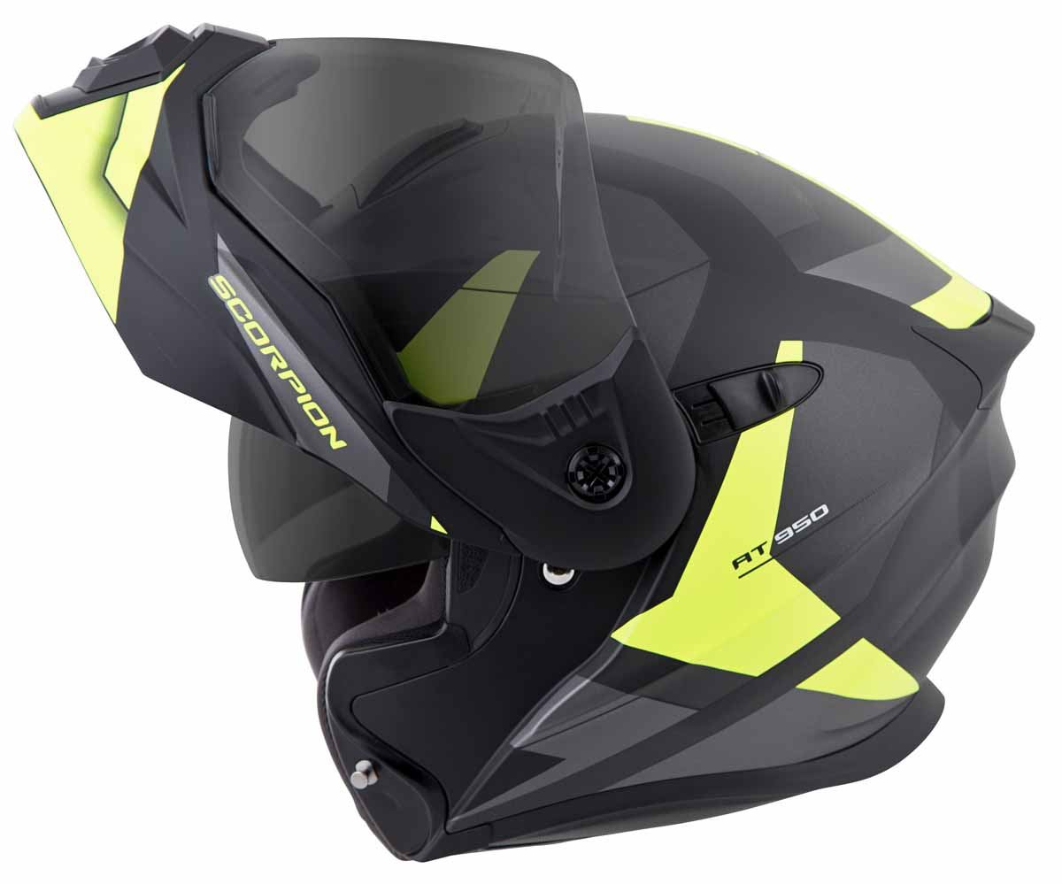 Scorpion-EXO-AT950-Helmet-Flip-Up-Modular-Dual-Sport-Adventure-ADV-DOT-XS-3XL miniature 38