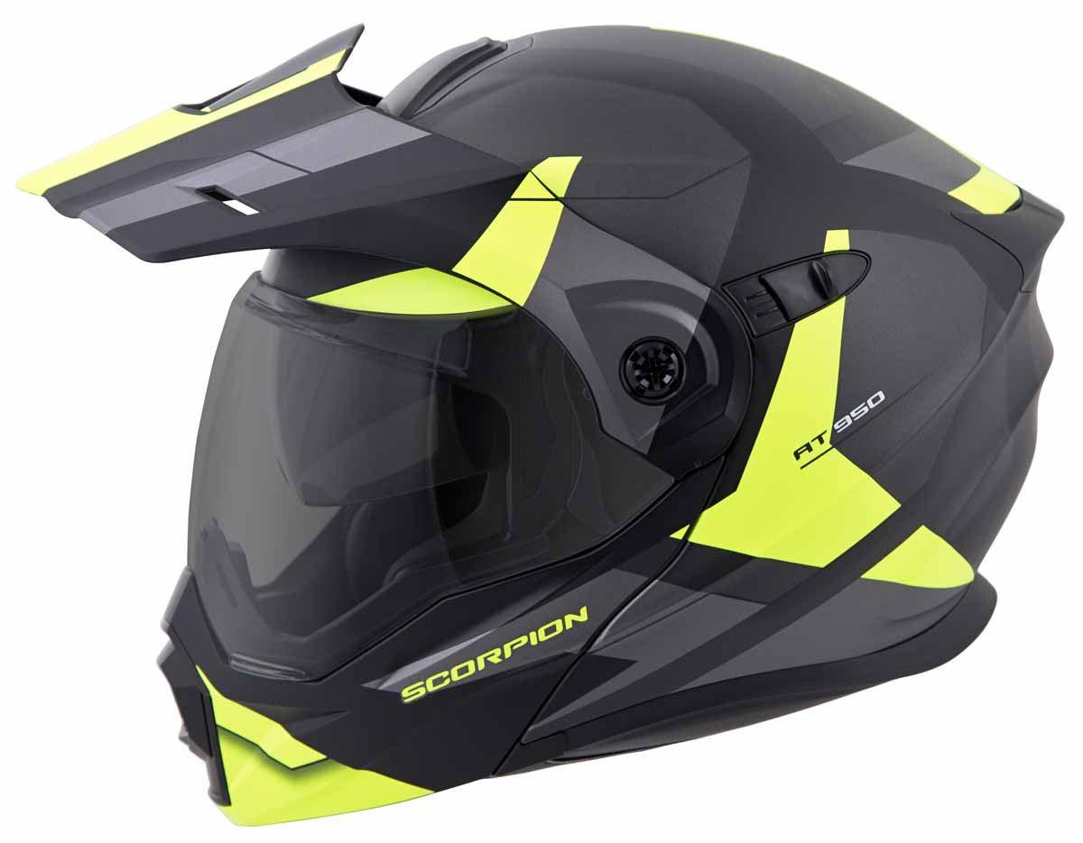 Scorpion-EXO-AT950-Helmet-Flip-Up-Modular-Dual-Sport-Adventure-ADV-DOT-XS-3XL miniature 36