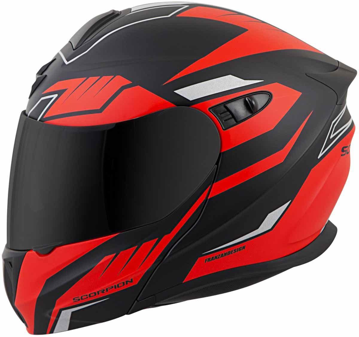 Scorpion-EXO-GT920-Helmet-Sport-Touring-Modular-Flip-Up-DOT-Approved-XS-3XL miniature 39