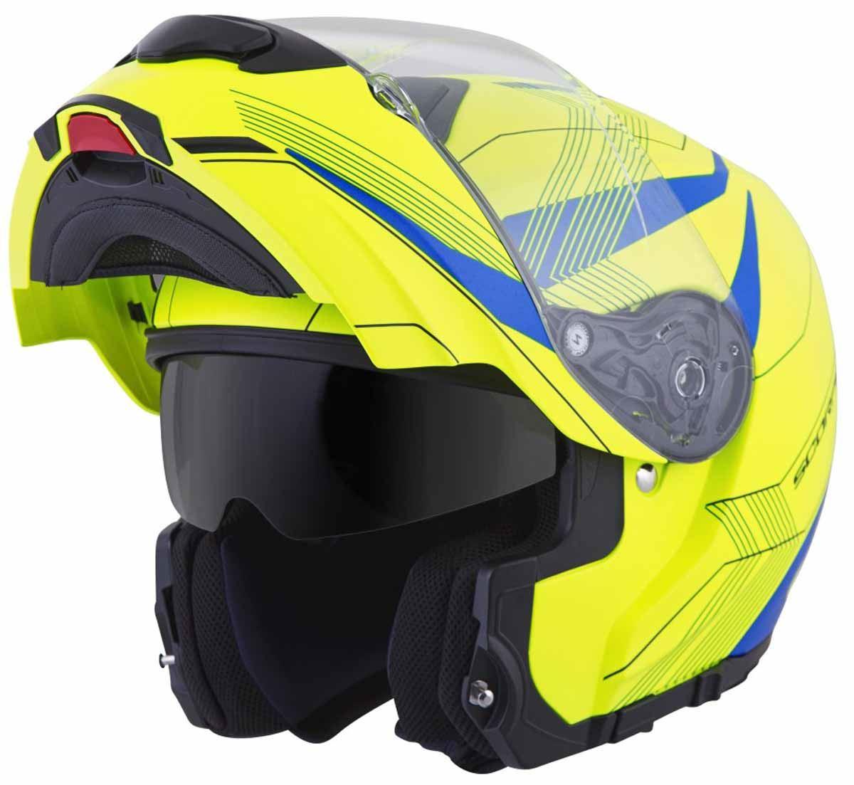 Scorpion-EXO-GT3000-Helmet-Modular-Flip-Up-Premium-DOT-Approved-XS-2XL miniature 28