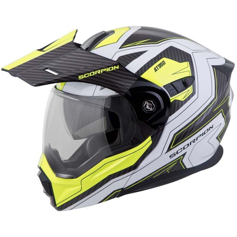 Scorpion-EXO-AT950-Helmet-Flip-Up-Modular-Dual-Sport-Adventure-ADV-DOT-XS-3XL miniature 77