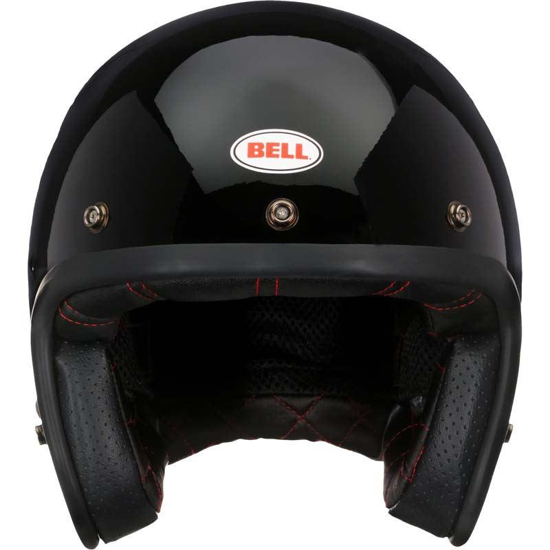 Bell-Custom-500-Helmet-3-4-Open-Face-Vintage-Retro-Motorcycle-5-Snap-XS-2XL miniature 3