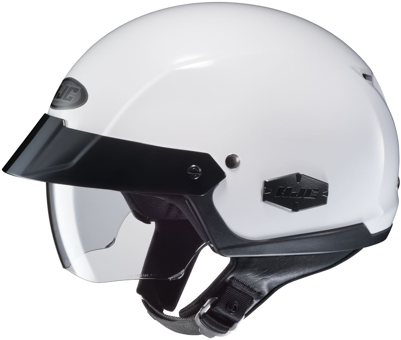 b1df8307 HJC IS-Cruiser Helmet Half with Inner Sun Shield Motorcycle XS S M L XL XXL