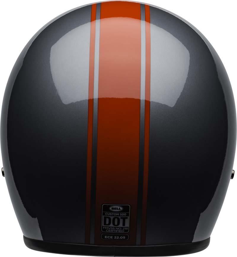 Bell-Custom-500-Helmet-3-4-Open-Face-Vintage-Retro-Motorcycle-5-Snap-XS-2XL miniature 63