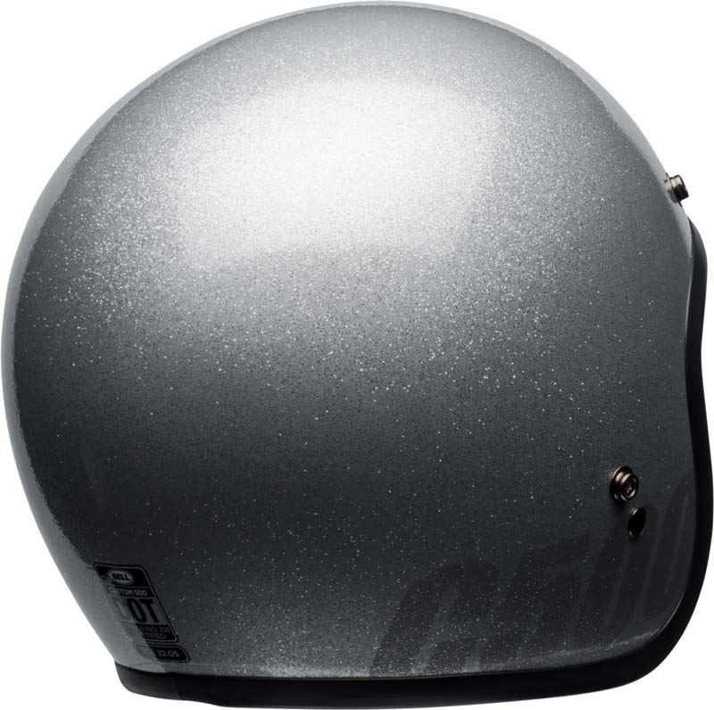 Bell-Custom-500-Helmet-3-4-Open-Face-Vintage-Retro-Motorcycle-5-Snap-XS-2XL miniature 26
