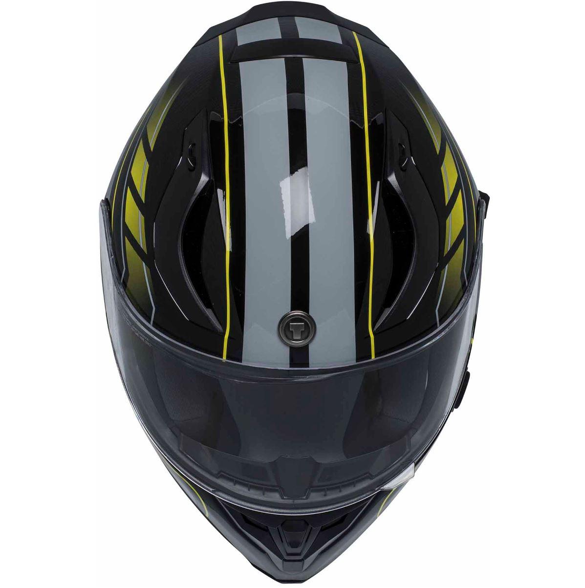 miniature 30 - Torc T15 T15B Helmet Bluetooth Blinc or without - Inner Sun Shield DOT XS-2XL