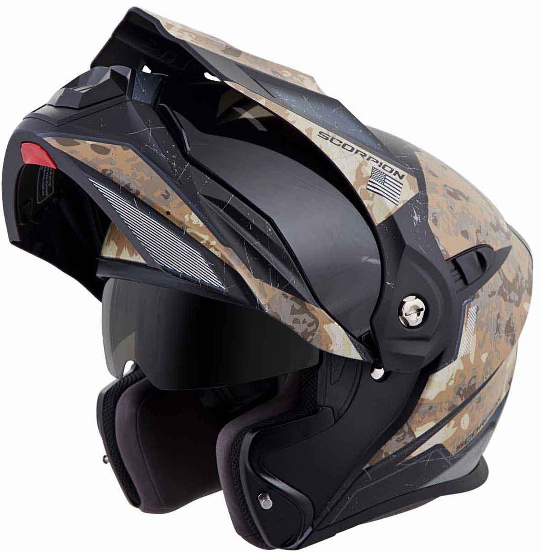 Scorpion-EXO-AT950-Helmet-Flip-Up-Modular-Dual-Sport-Adventure-ADV-DOT-XS-3XL miniature 56