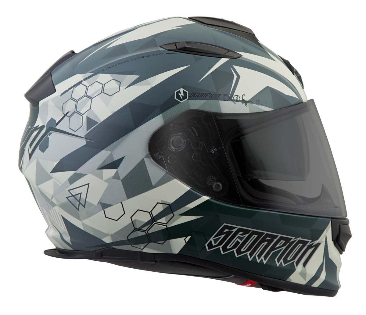 Scorpion-EXO-T510-Helmet-Full-Face-DOT-Approved-Inner-Sun-Shield miniature 59