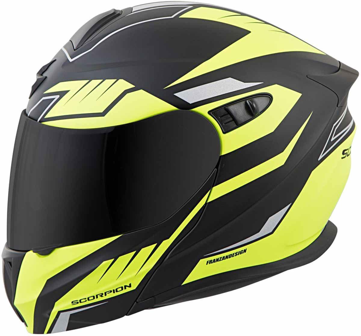 Scorpion-EXO-GT920-Helmet-Sport-Touring-Modular-Flip-Up-DOT-Approved-XS-3XL miniature 43