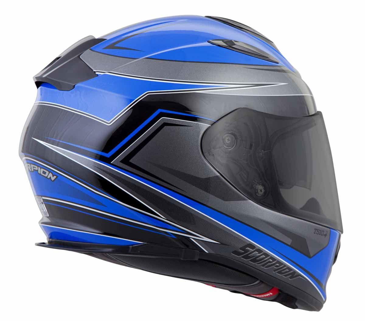 Scorpion-EXO-T510-Helmet-Full-Face-DOT-Approved-Inner-Sun-Shield miniature 29