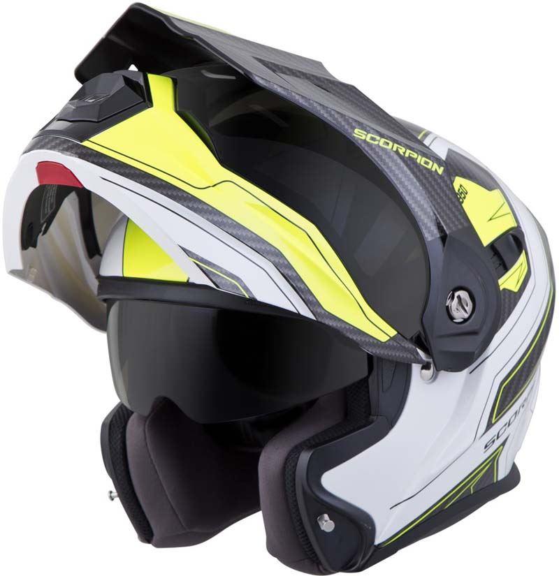Scorpion-EXO-AT950-Helmet-Flip-Up-Modular-Dual-Sport-Adventure-ADV-DOT-XS-3XL miniature 75