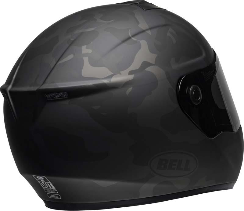 Bell-SRT-Helmet-Full-Face-Eyewear-Friendly-Fiberglass-DOT-SNELL-M2015-XS-2XL miniature 57
