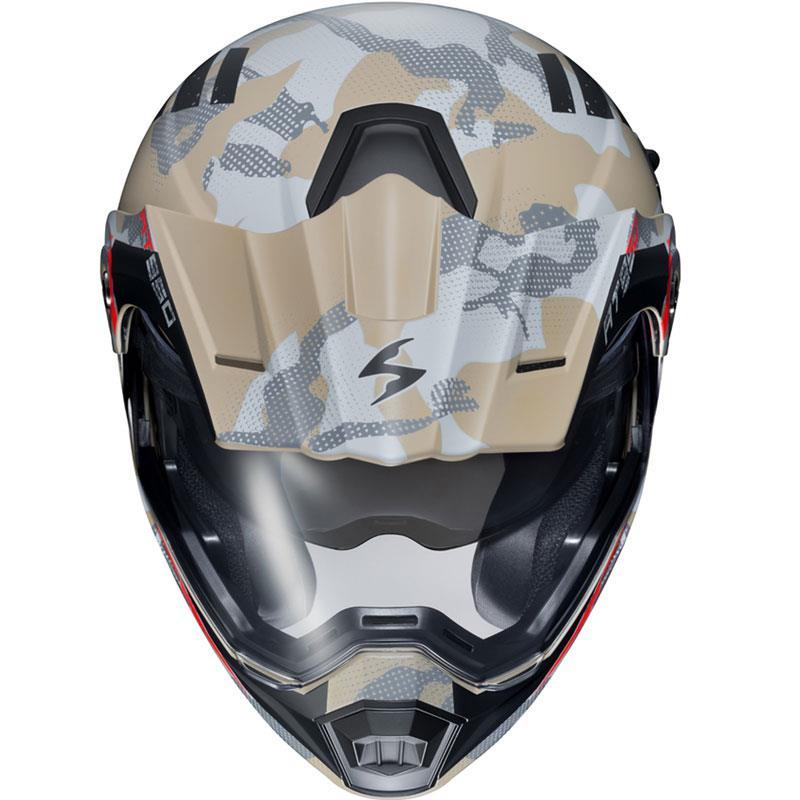 Scorpion-EXO-AT950-Helmet-Flip-Up-Modular-Dual-Sport-Adventure-ADV-DOT-XS-3XL miniature 89