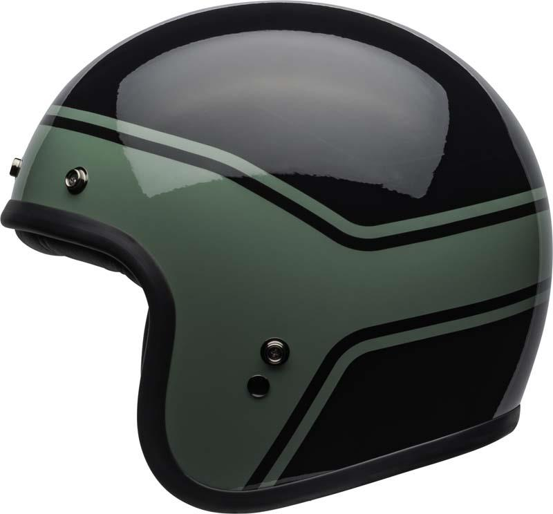 Bell-Custom-500-Helmet-3-4-Open-Face-Vintage-Retro-Motorcycle-5-Snap-XS-2XL miniature 31