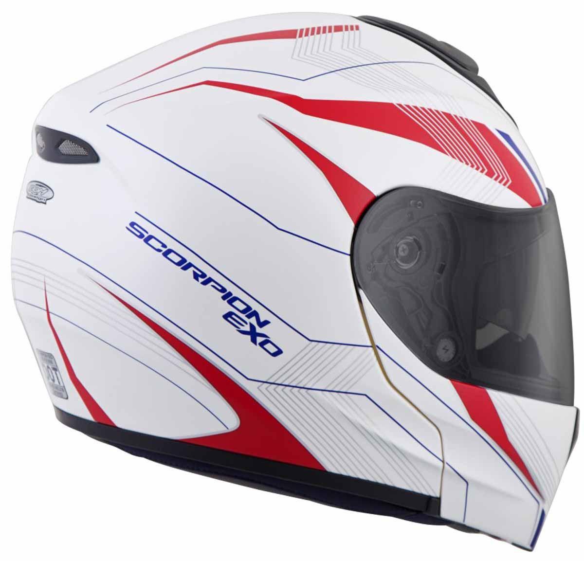 Scorpion-EXO-GT3000-Helmet-Modular-Flip-Up-Premium-DOT-Approved-XS-2XL miniature 26