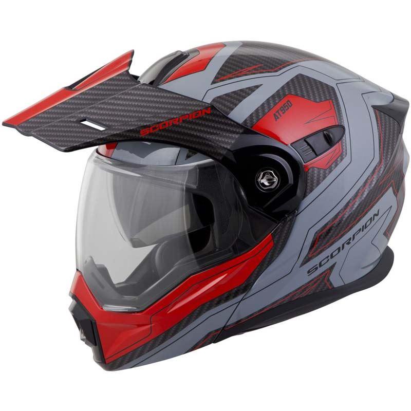 Scorpion-EXO-AT950-Helmet-Flip-Up-Modular-Dual-Sport-Adventure-ADV-DOT-XS-3XL miniature 64