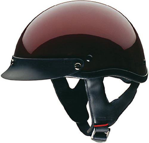 miniature 9 - HCI 100 Half Helmet Motorcycle Shorty with Visor DOT Approved XS S M L XL 2XL