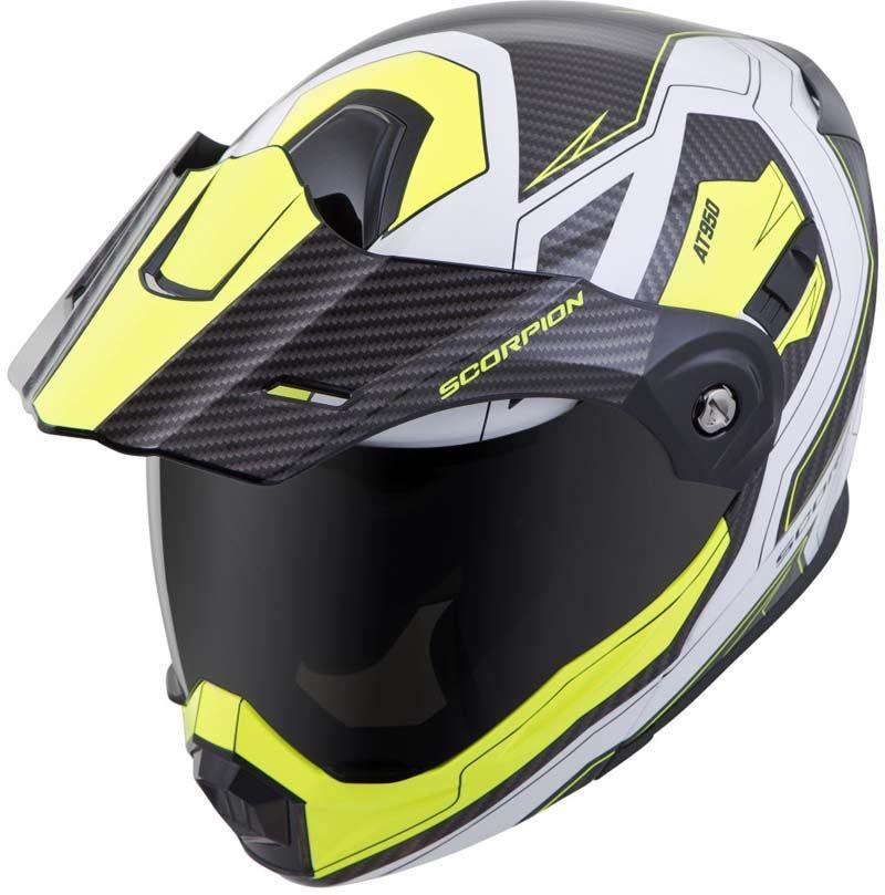 Scorpion-EXO-AT950-Helmet-Flip-Up-Modular-Dual-Sport-Adventure-ADV-DOT-XS-3XL miniature 78