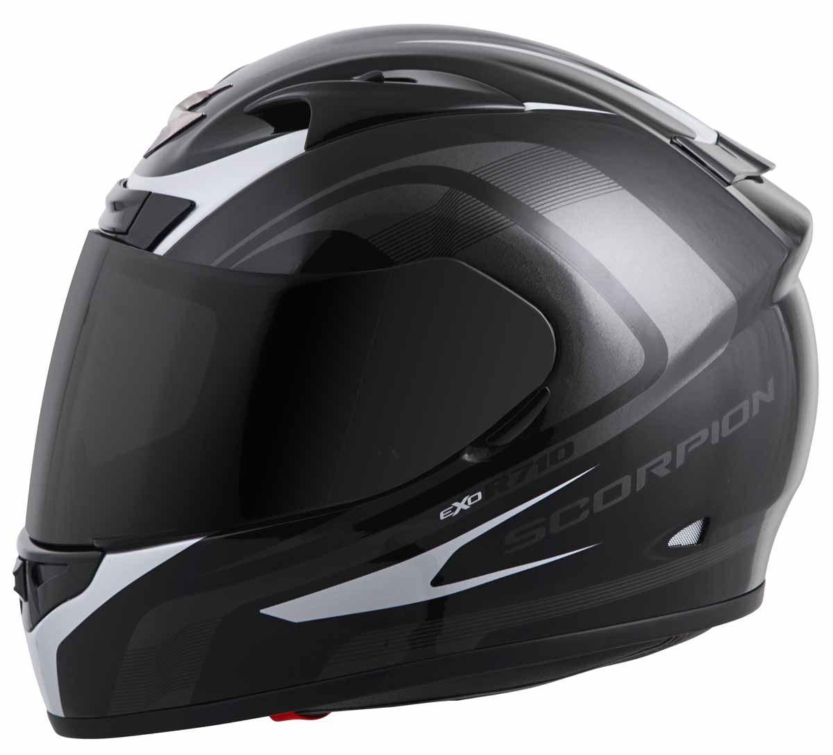 Scorpion-EXO-R710-Helmet-Fiberglass-Full-Face-DOT-SNELL-M2015-Certified-XS-2XL miniature 9