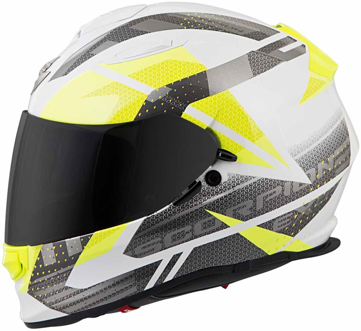 Scorpion-EXO-T510-Helmet-Full-Face-DOT-Approved-Inner-Sun-Shield miniature 77