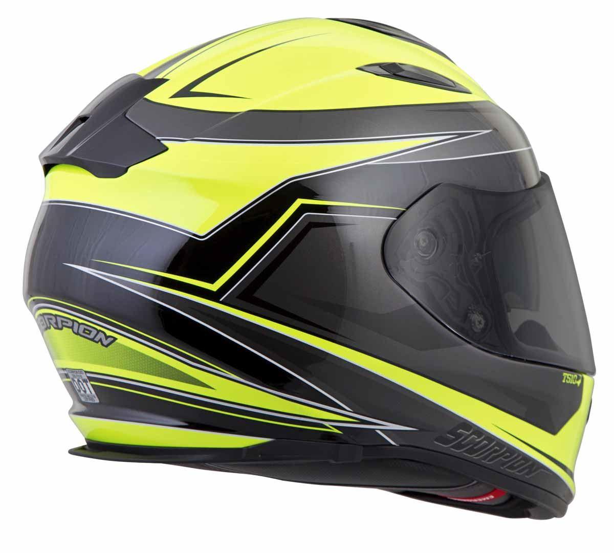 Scorpion-EXO-T510-Helmet-Full-Face-DOT-Approved-Inner-Sun-Shield miniature 41