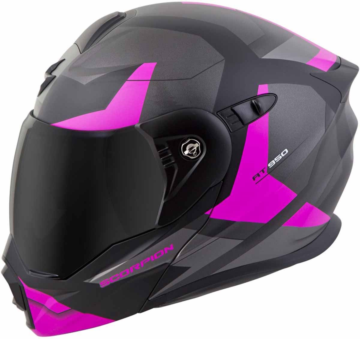 Scorpion-EXO-AT950-Helmet-Flip-Up-Modular-Dual-Sport-Adventure-ADV-DOT-XS-3XL miniature 44