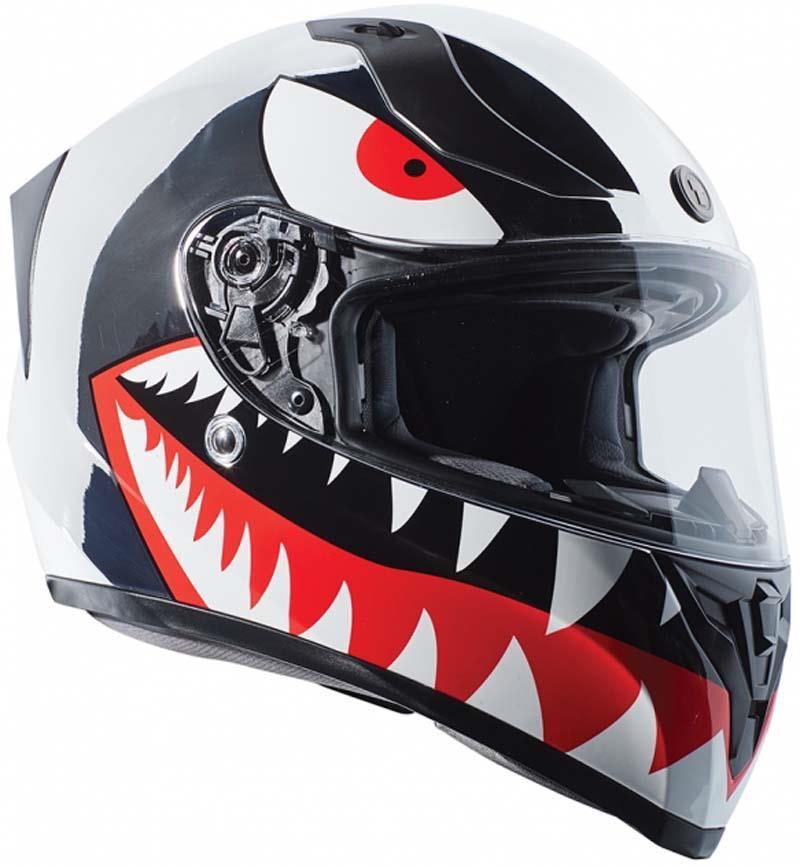 miniature 36 - Torc T15 T15B Helmet Bluetooth Blinc or without - Inner Sun Shield DOT XS-2XL