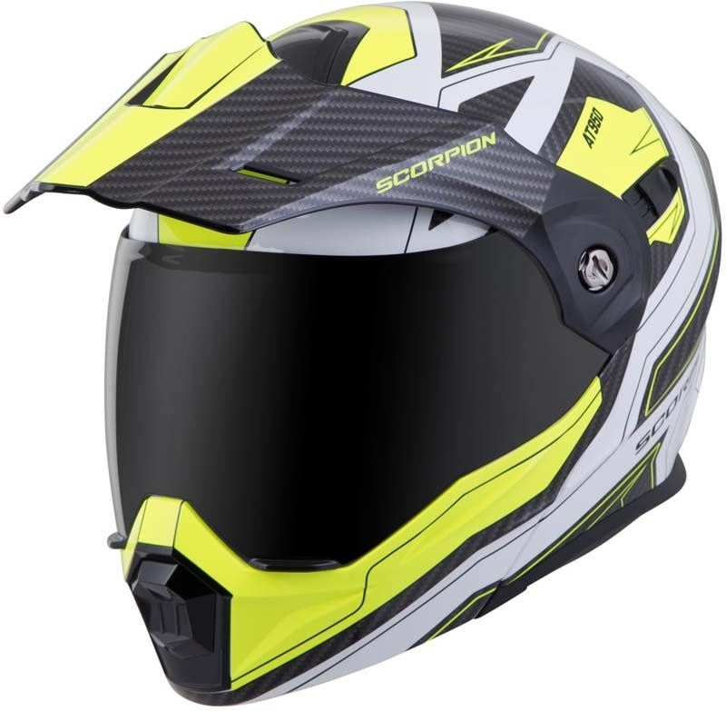 Scorpion-EXO-AT950-Helmet-Flip-Up-Modular-Dual-Sport-Adventure-ADV-DOT-XS-3XL miniature 73