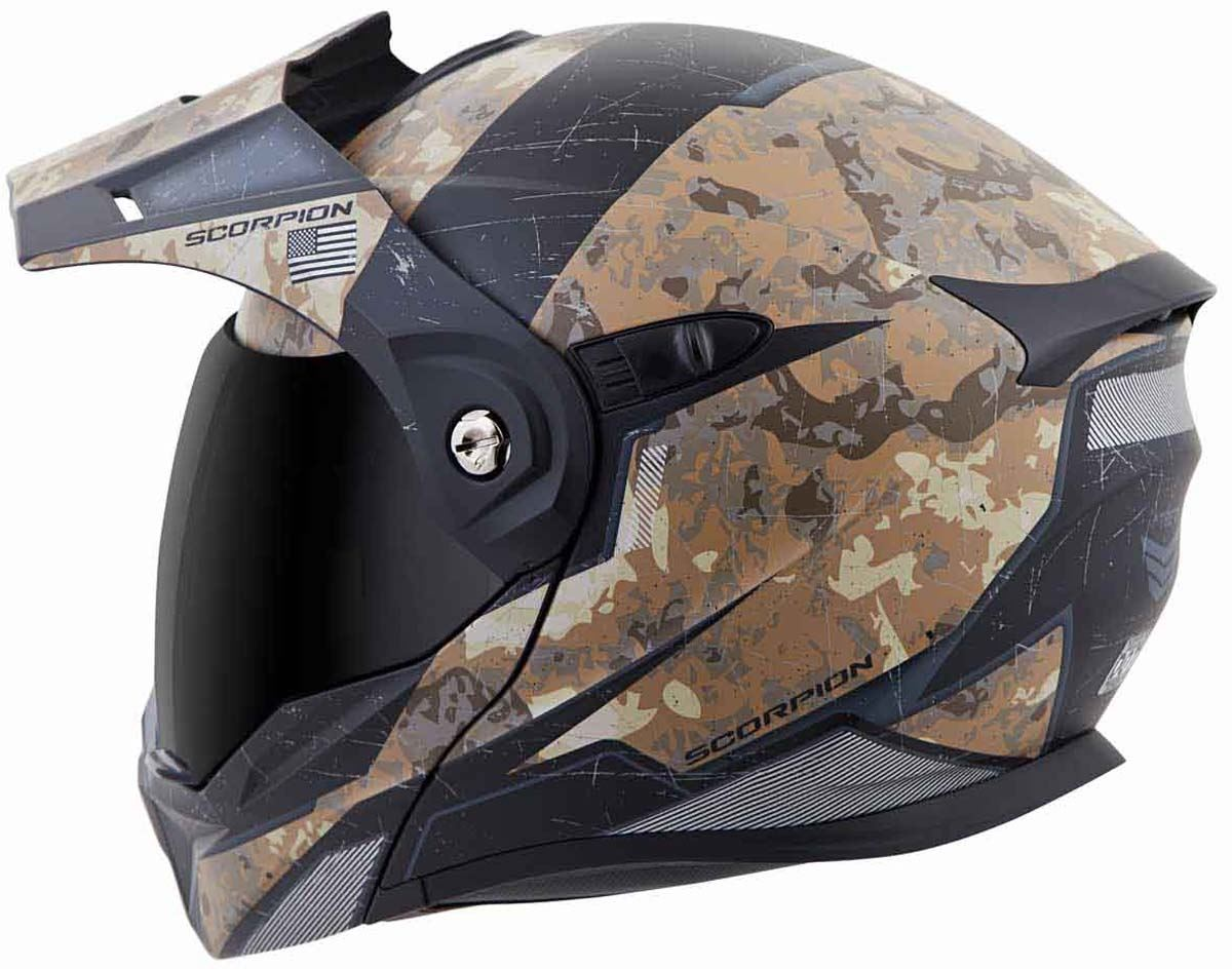 Scorpion-EXO-AT950-Helmet-Flip-Up-Modular-Dual-Sport-Adventure-ADV-DOT-XS-3XL miniature 57