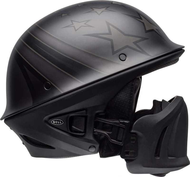 Bell-Rogue-Helmet-Muzzle-Open-Face-Speaker-Pockets-Motorcycle-DOT-2020-XS-2XL miniature 13