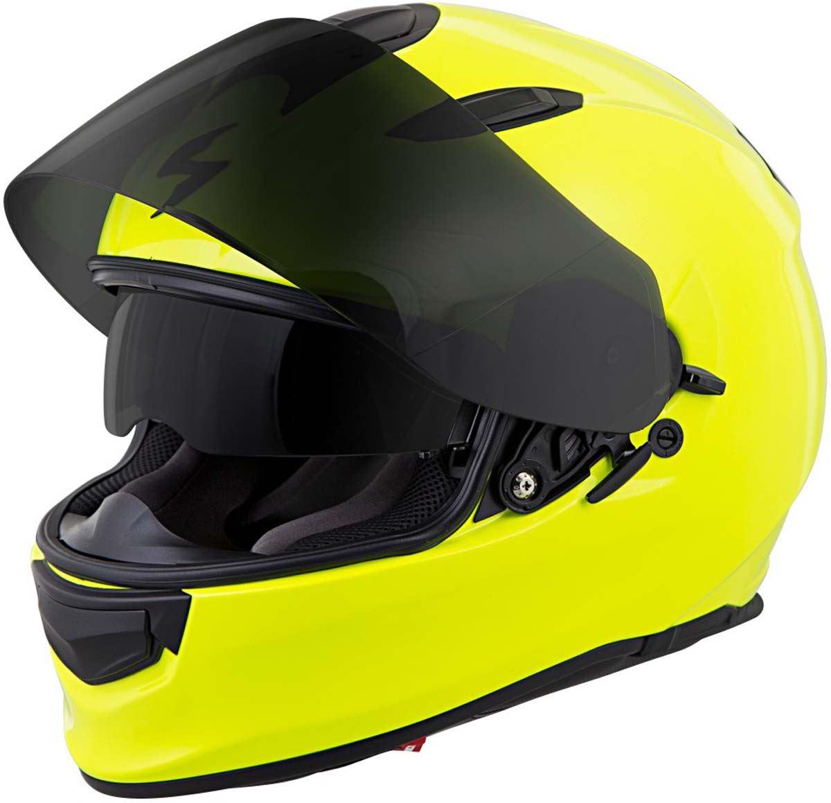 Scorpion-EXO-T510-Helmet-Full-Face-DOT-Approved-Inner-Sun-Shield miniature 16