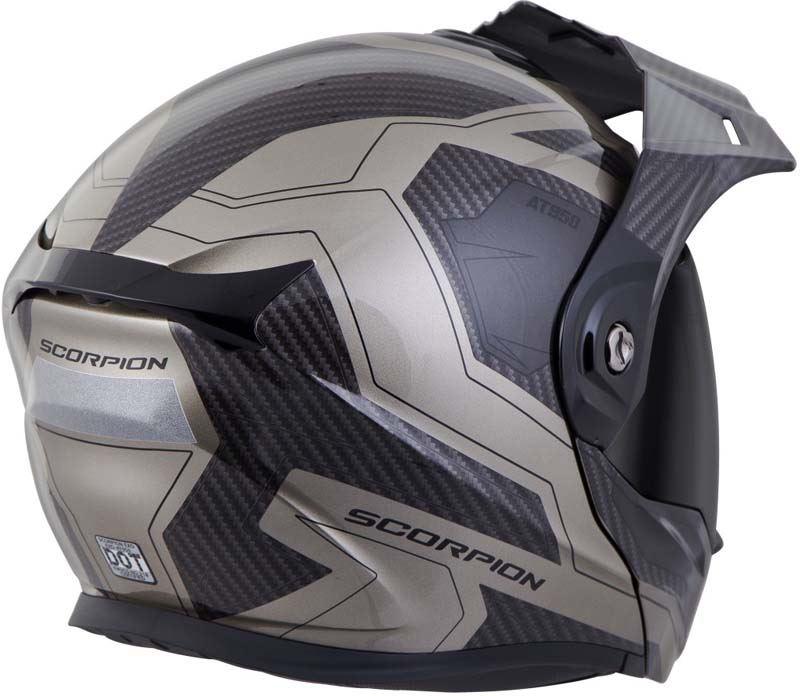 Scorpion-EXO-AT950-Helmet-Flip-Up-Modular-Dual-Sport-Adventure-ADV-DOT-XS-3XL miniature 72