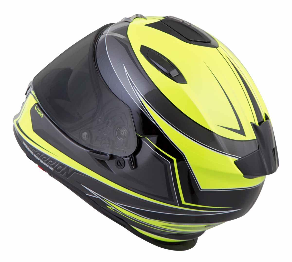 Scorpion-EXO-T510-Helmet-Full-Face-DOT-Approved-Inner-Sun-Shield miniature 42