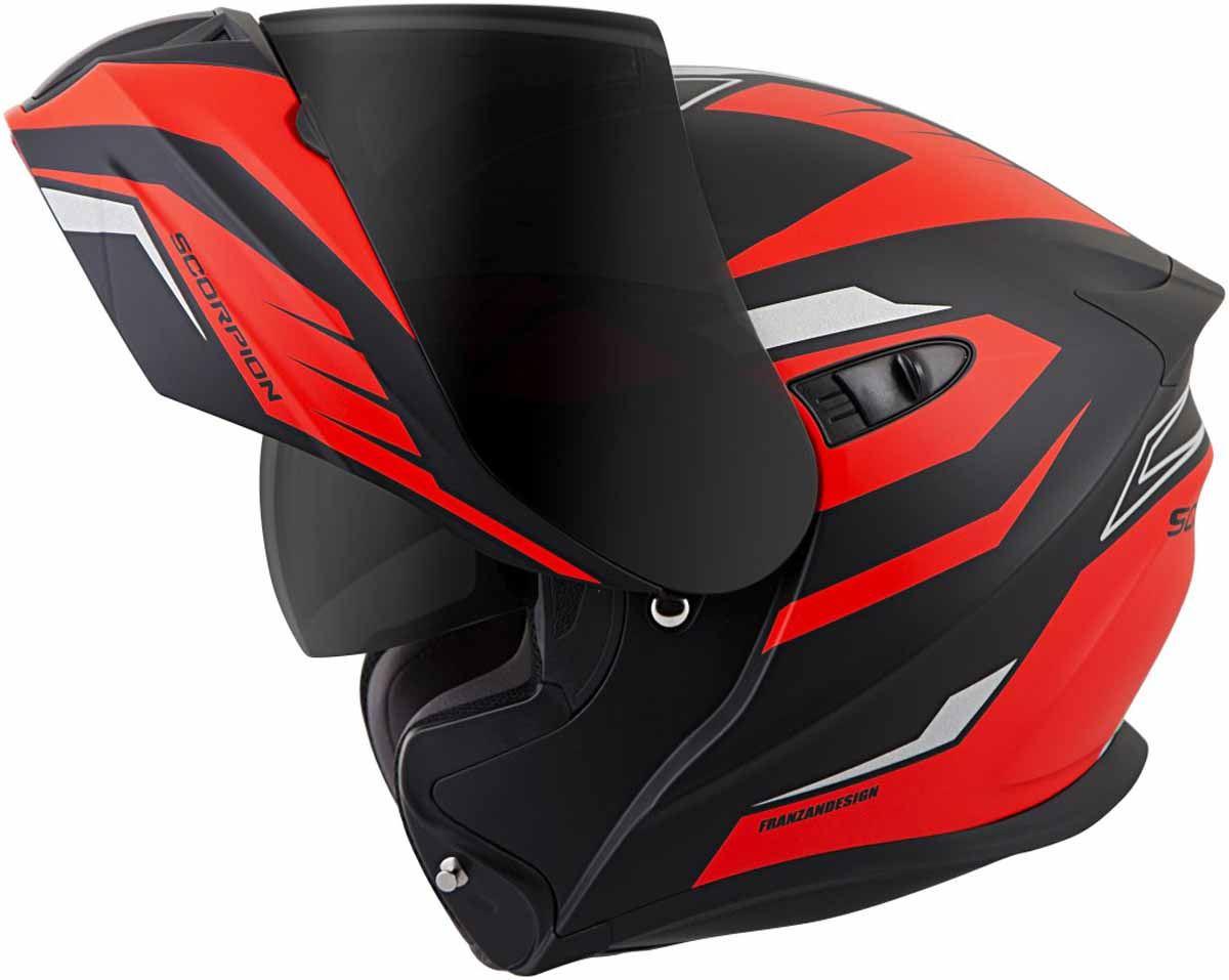 Scorpion-EXO-GT920-Helmet-Sport-Touring-Modular-Flip-Up-DOT-Approved-XS-3XL miniature 40