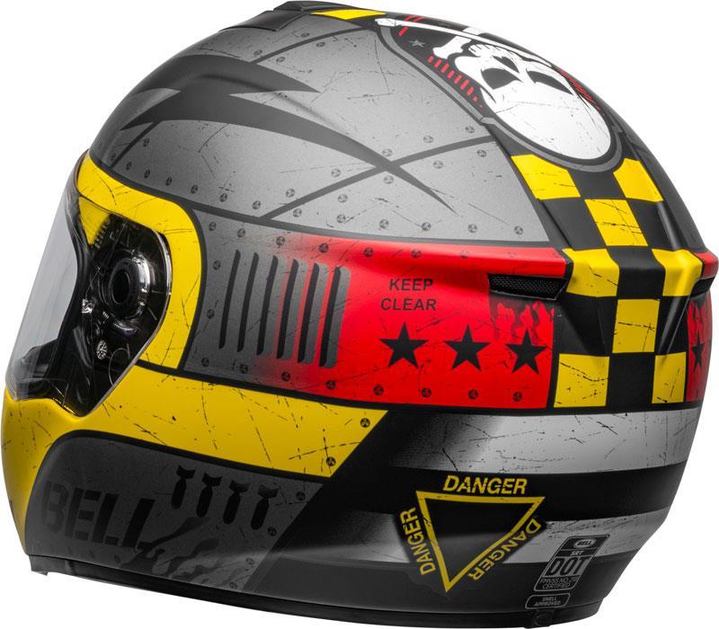 miniature 80 - Bell SRT Helmet Full Face Eyewear Friendly Fiberglass DOT SNELL M2015 XS-2XL