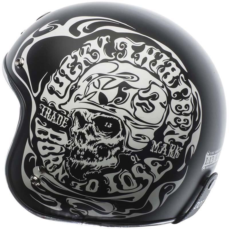 miniature 28 - Torc T50 Helmet 3/4 Open Face Motorcycle 3 Snap DOT XS-2XL 2020-21 Line