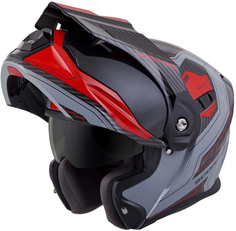 Scorpion-EXO-AT950-Helmet-Flip-Up-Modular-Dual-Sport-Adventure-ADV-DOT-XS-3XL miniature 62