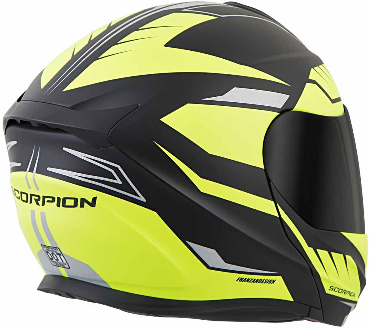 Scorpion-EXO-GT920-Helmet-Sport-Touring-Modular-Flip-Up-DOT-Approved-XS-3XL miniature 45