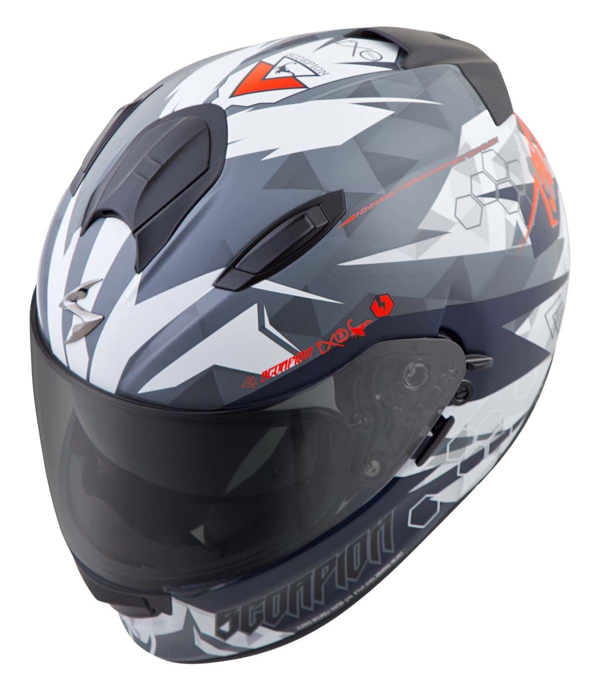 Scorpion-EXO-T510-Helmet-Full-Face-DOT-Approved-Inner-Sun-Shield miniature 54