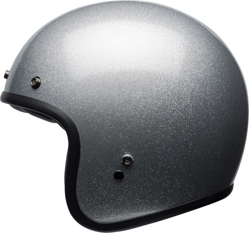 Bell-Custom-500-Helmet-3-4-Open-Face-Vintage-Retro-Motorcycle-5-Snap-XS-2XL miniature 23